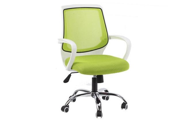 绿色网布转椅 员工转椅 办公椅子厂家直销 HYY039-品源
