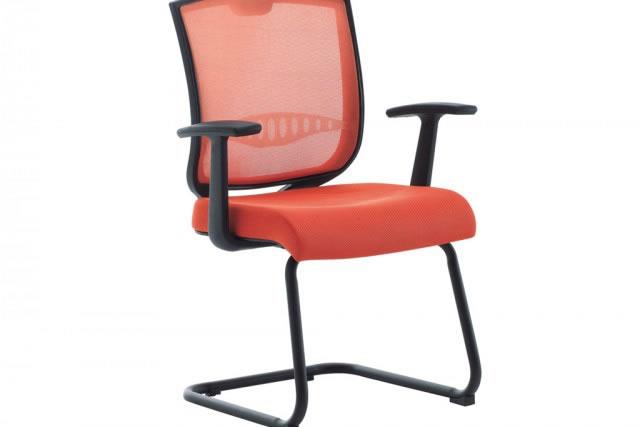 时尚会议椅 网面会议椅 弓形会议椅 HYY038—品源