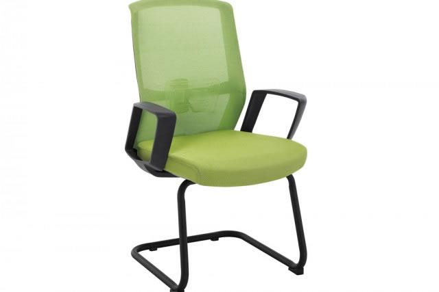 网布电脑椅 职员办公椅 弓形会议椅 HYY037-品源