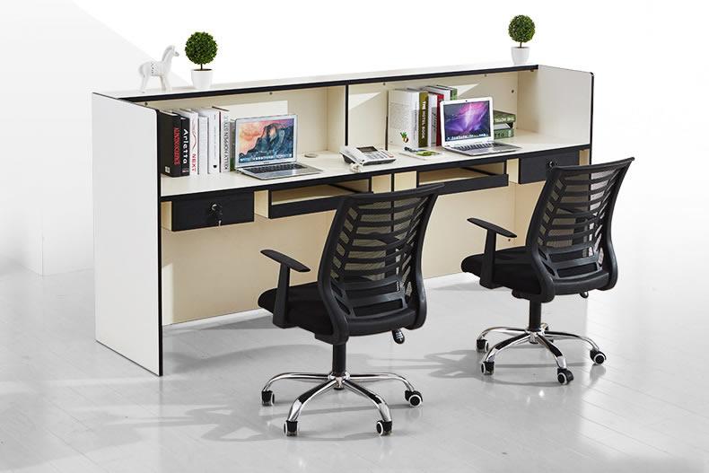 办公室前台接待台 板式前台接待