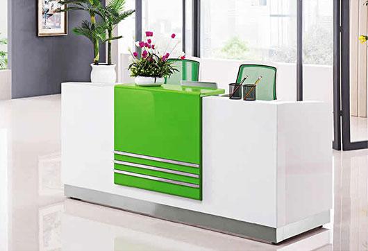 公司前台办公桌 长方形前台办公