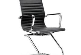 仿皮弓形椅