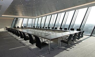 弧形办公桌,弧形办公桌样式