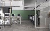 免漆板办公桌的材质图片说明