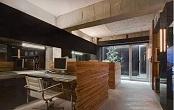 上海崇明区新中式经理办公室设计说明